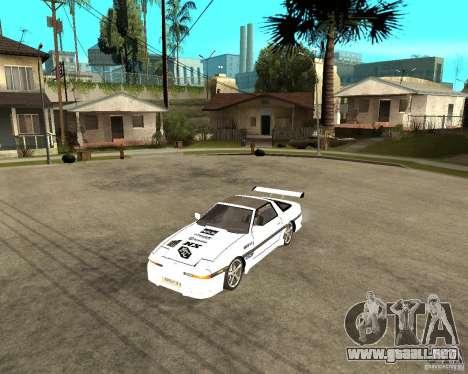 Toyota Supra MK3 Tuning para GTA San Andreas left