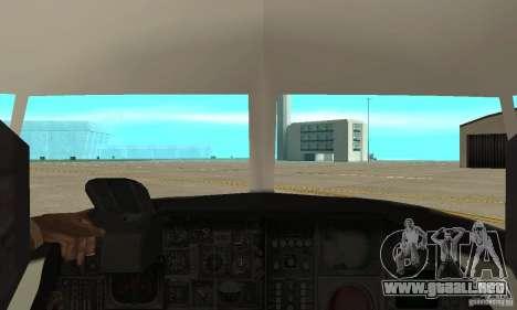 C-2 Greyhound para la visión correcta GTA San Andreas