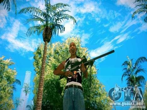 Armas Pack HD para GTA San Andreas segunda pantalla