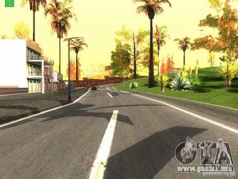 Roads Moscow para GTA San Andreas tercera pantalla