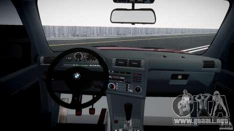 BMW E30 v8 para GTA 4 visión correcta