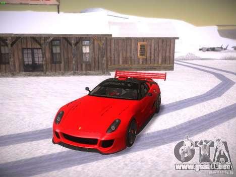 Ferrari 599XX para la vista superior GTA San Andreas