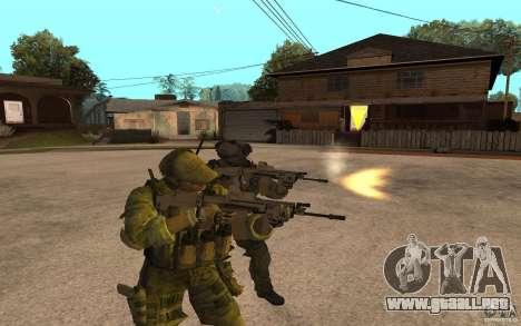 SCAR FN MK16 para GTA San Andreas segunda pantalla