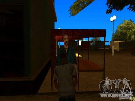Arreglar animaciones faciales para GTA San Andreas sucesivamente de pantalla