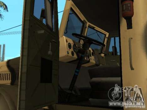 KrAZ 255 B1 v 2.0 para la visión correcta GTA San Andreas
