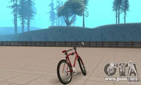 Chongs Mountain Bike para GTA San Andreas left