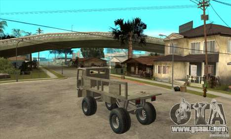 Fast Five Sand King para GTA San Andreas vista posterior izquierda