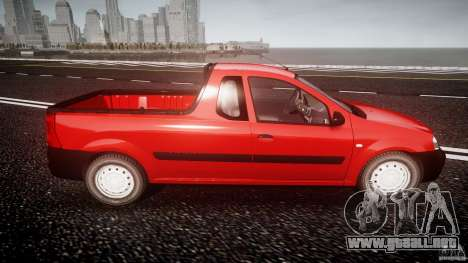 Dacia Logan Pick-up ELIA tuned para GTA 4 vista lateral
