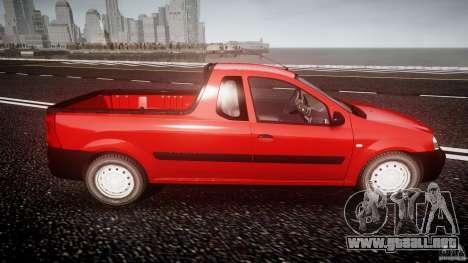 Dacia Logan Pick-up ELIA tuned para GTA 4 vista lateral