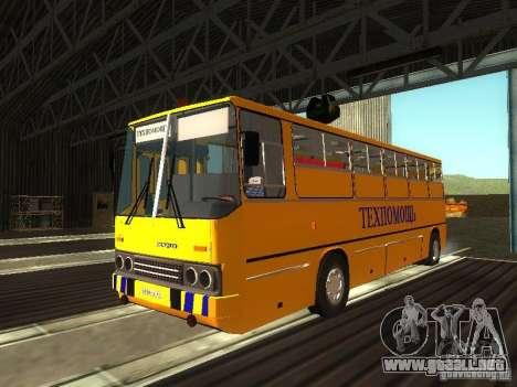 Técnico Ikarus 280 para GTA San Andreas left