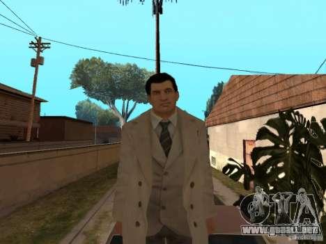 Joe Barbaro de Mafia 2 para GTA San Andreas quinta pantalla