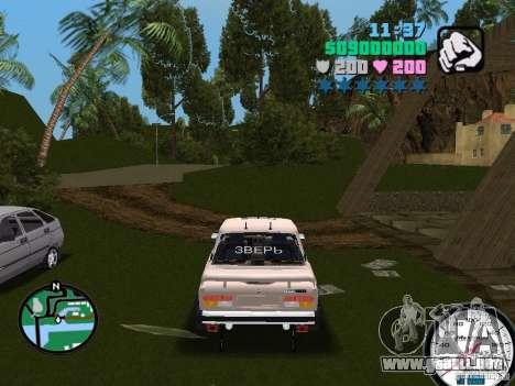 VAZ 2107 para GTA Vice City vista lateral izquierdo