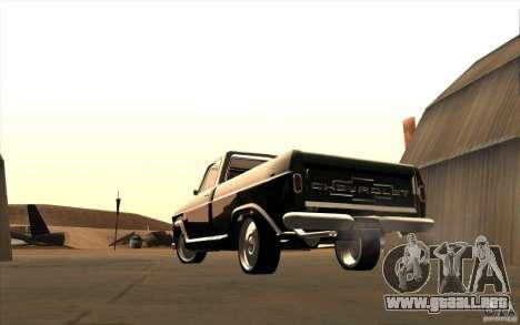 Chevrolet C-10 Fixxa para la visión correcta GTA San Andreas