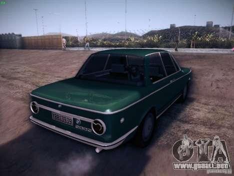 BMW 2002 1972 para la visión correcta GTA San Andreas