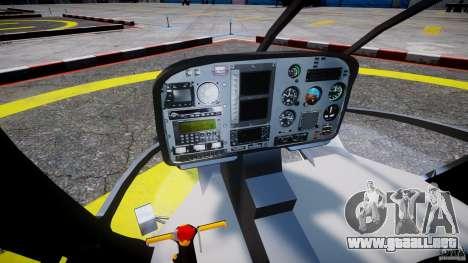 Eurocopter EC 130 LCPD para GTA 4 visión correcta