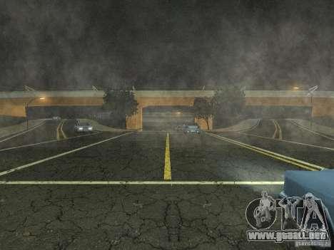 New Airport San Fierro para GTA San Andreas segunda pantalla