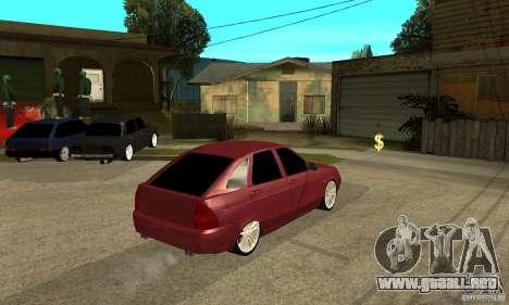 VAZ Lada Priora 2172 LT para la visión correcta GTA San Andreas