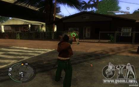 Vista v1 para GTA San Andreas tercera pantalla