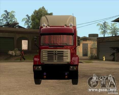 Super Zil v 2.0 para GTA San Andreas vista hacia atrás