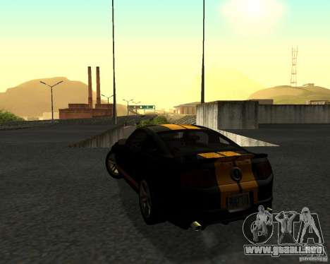 ENBSeries by Nikoo Bel v3.0 Final para GTA San Andreas quinta pantalla
