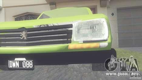 Peugeot 504 para visión interna GTA San Andreas
