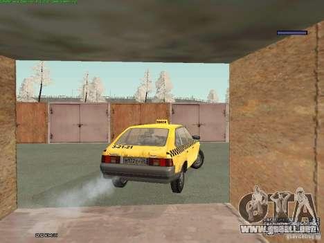 AZLK Moskvich 2141 Taxi v2 para el motor de GTA San Andreas