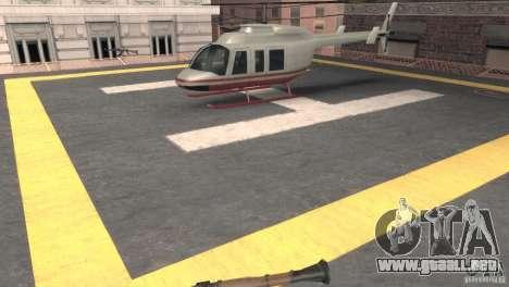 San Fierro Police Station 1.0 para GTA San Andreas quinta pantalla