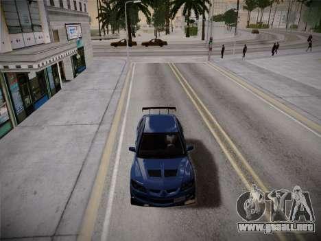 ENBSeries by Treavor V2 White edition para GTA San Andreas sucesivamente de pantalla