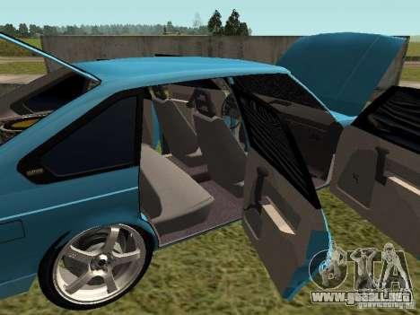 Moskvich 2141 para la vista superior GTA San Andreas