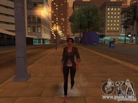 Black Stallion Peds para GTA San Andreas quinta pantalla