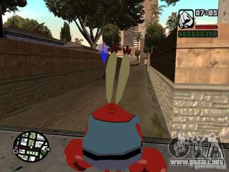 Don Cangrejo para GTA San Andreas sexta pantalla