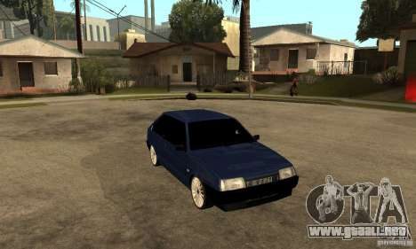 Lada VAZ 2108 para GTA San Andreas vista hacia atrás