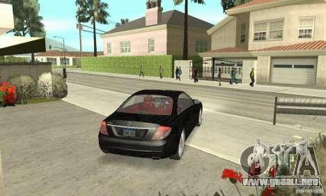 Mercedes-Benz CL500 para GTA San Andreas left