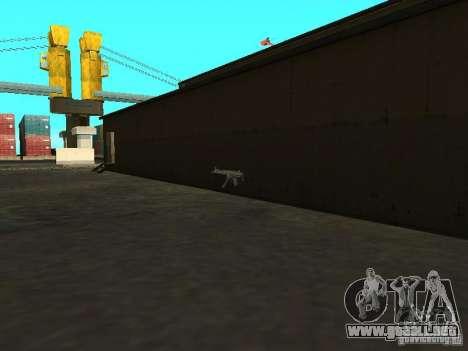 Renovación de la base militar en el puerto para GTA San Andreas séptima pantalla
