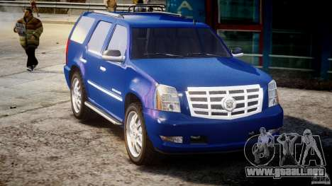 Cadillac Escalade [Beta] para GTA 4 vista interior