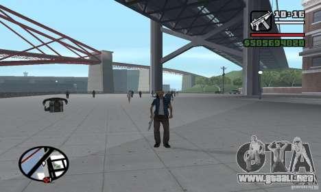 Reencarnación en un habitante de la ciudad para GTA San Andreas sexta pantalla
