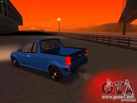 Nissan NP200 para la visión correcta GTA San Andreas