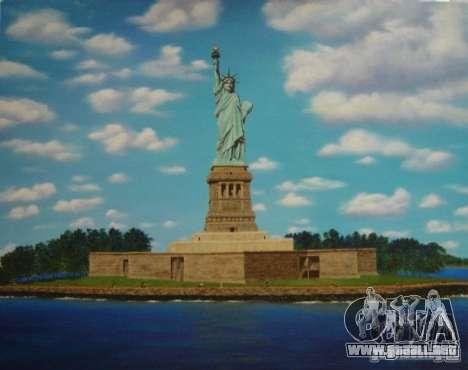 La estatua de la libertad para GTA San Andreas tercera pantalla