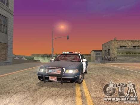 LowEND PCs ENB Config para GTA San Andreas novena de pantalla
