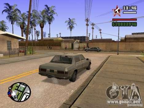ENBSeries para FX 5200 GForce v3.0 para GTA San Andreas tercera pantalla