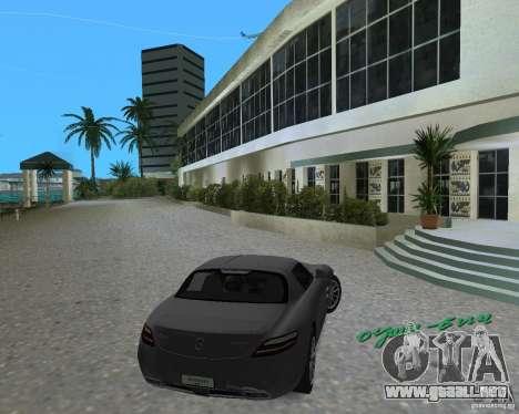 Mercedes Benz SLS AMG para GTA Vice City left