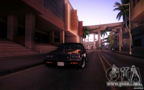 Buick Regal GNX para vista lateral GTA San Andreas