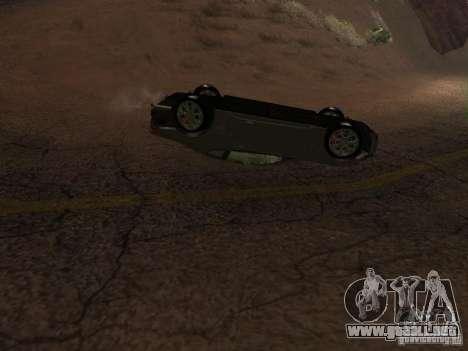 No te quemes coches volcados para GTA San Andreas quinta pantalla