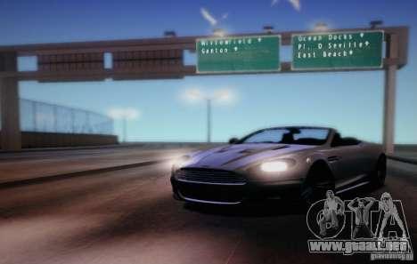 CreatorCreatureSpores Graphics Enhancement para GTA San Andreas sucesivamente de pantalla