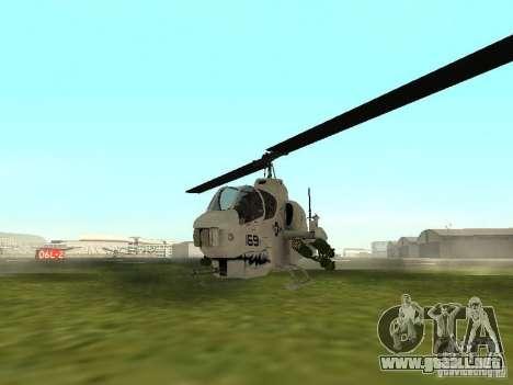 AH-1 Supercobra para GTA San Andreas left