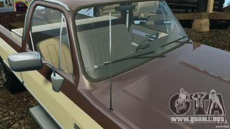 Chevrolet Silverado 1986 para GTA motor 4