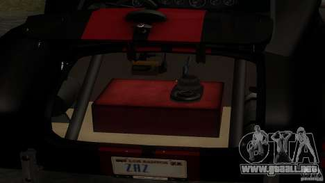 Shelby Cobra Dezent Tuning para vista lateral GTA San Andreas
