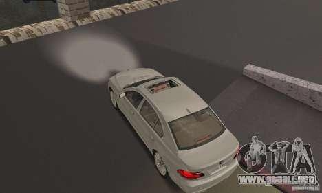 Faros blancos brillantes para GTA San Andreas segunda pantalla