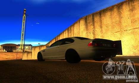 BMW M3 E46 TUNEABLE para GTA San Andreas left