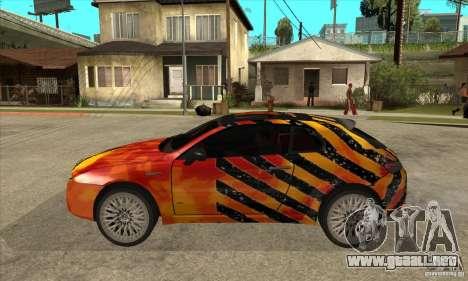 Alfa Romeo Brera para GTA San Andreas left
